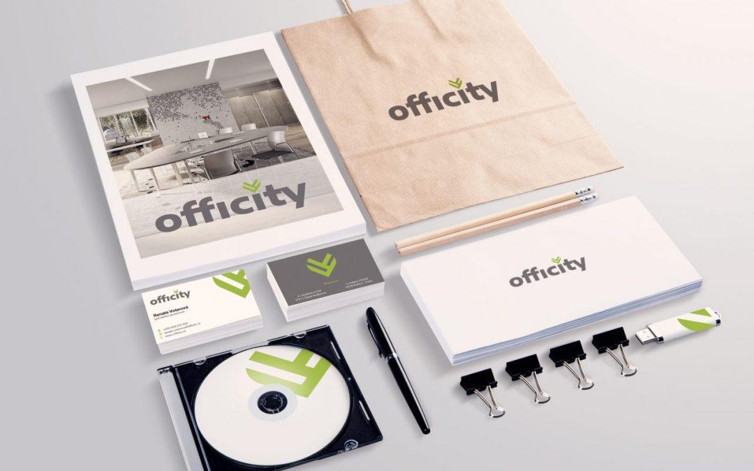 Brandový archetyp Caregiver/Pečovatel aneb vývoj loga společnosti Officity